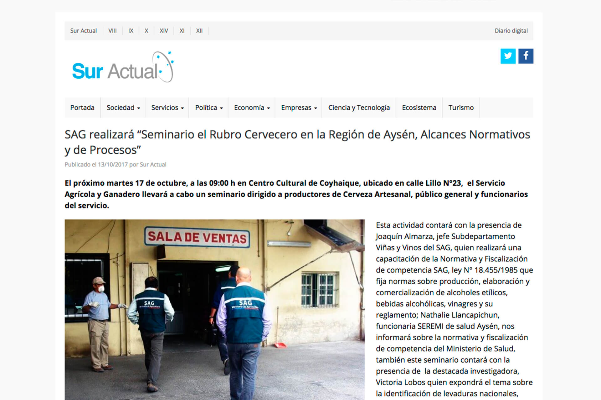 articulo-sur-actual-patagonian-yeast-SAG-temuco-chile-min